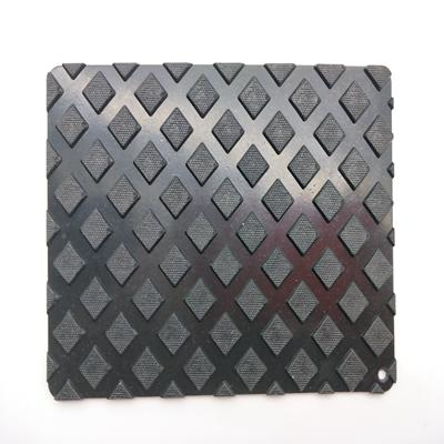 Custom Design Diamond Pattern NBR/EPDM/CR/SBR Anti Slip Rubber Sheet Mat