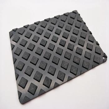 Custom Design Diamond Pattern NBR/EPDM/CR/SBR Anti Slip Rubber Sheet Mat