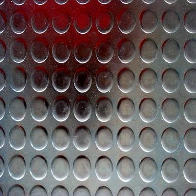 Coin pattern anti slip rubber floor mat/sheet/pad