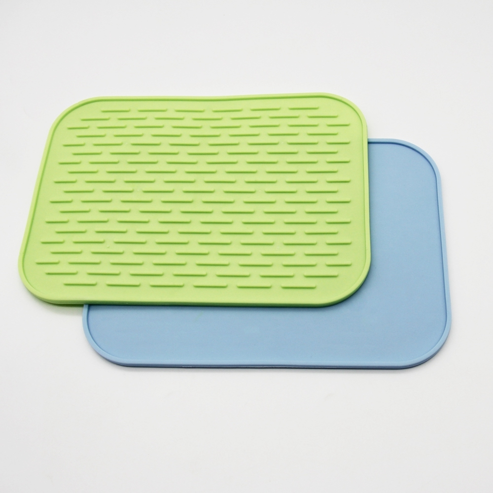 Pan Cups Draining Water Silicone Mat