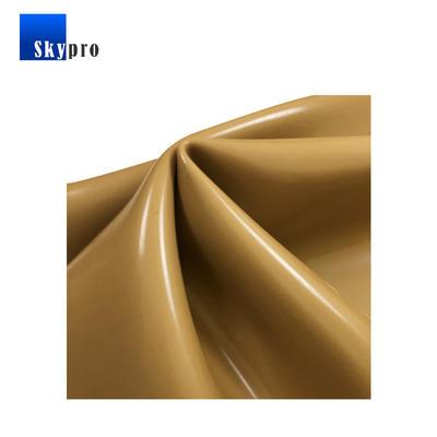 40 shore A TAN soft PARA natural elastic high stretch rubber sheet