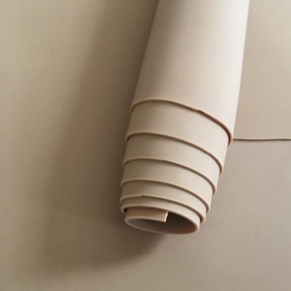 Anti slip tan yellow natural gum rubber sheet