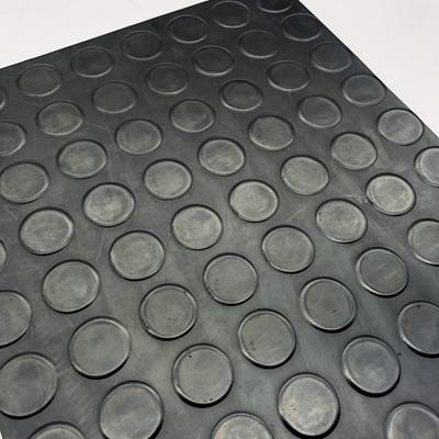 Factory direct custom coin rubber flooring mat non slip rubber sheet