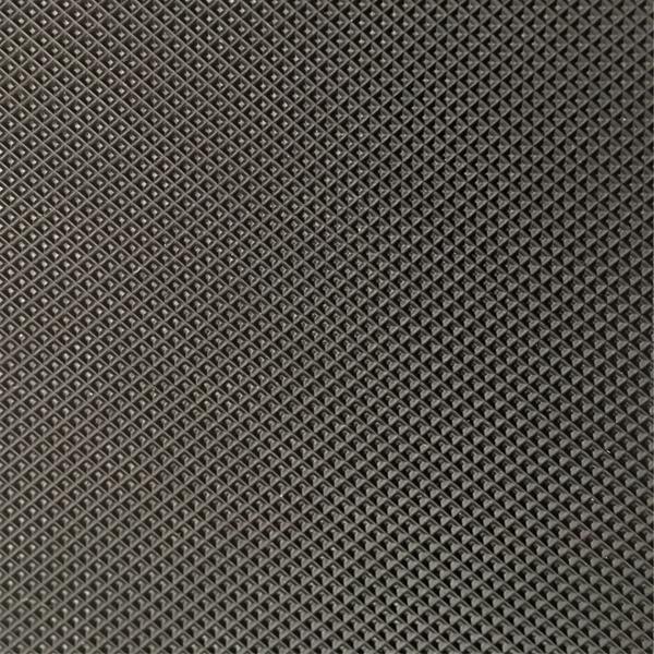 Low Noise Black Diamond Treadmill Walking PVC Conveyor Belt