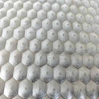 Customized 6mm thickness black honeycomb hexagon rubber flooring mat cow mat
