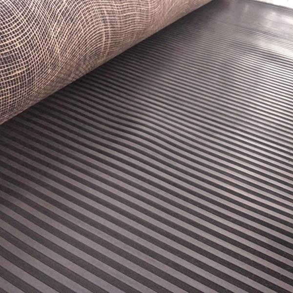Fiber Reinforced Rubber Sheet Cloth Inserted Rubber mat