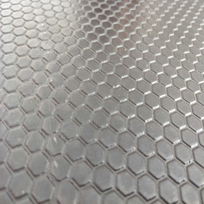 Black 14mm thick double sided high density comfortable honeycomb hexagon cow stall mat