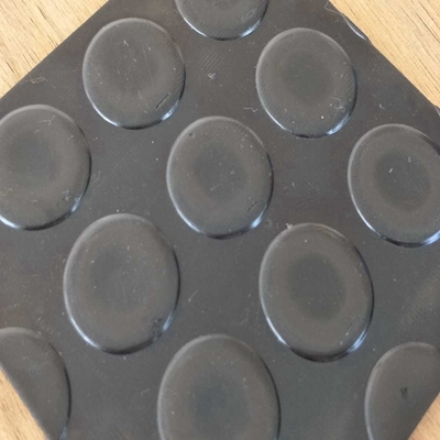 Coin Strips Variable Textures On Top 3mm Thick Horse Stable Matting Rubber Sheeting
