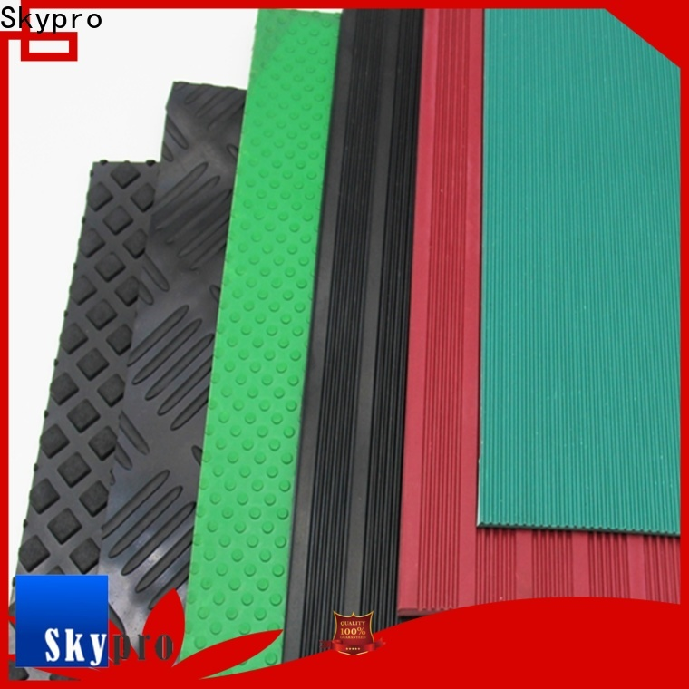 Skypro black rubber mat for sale