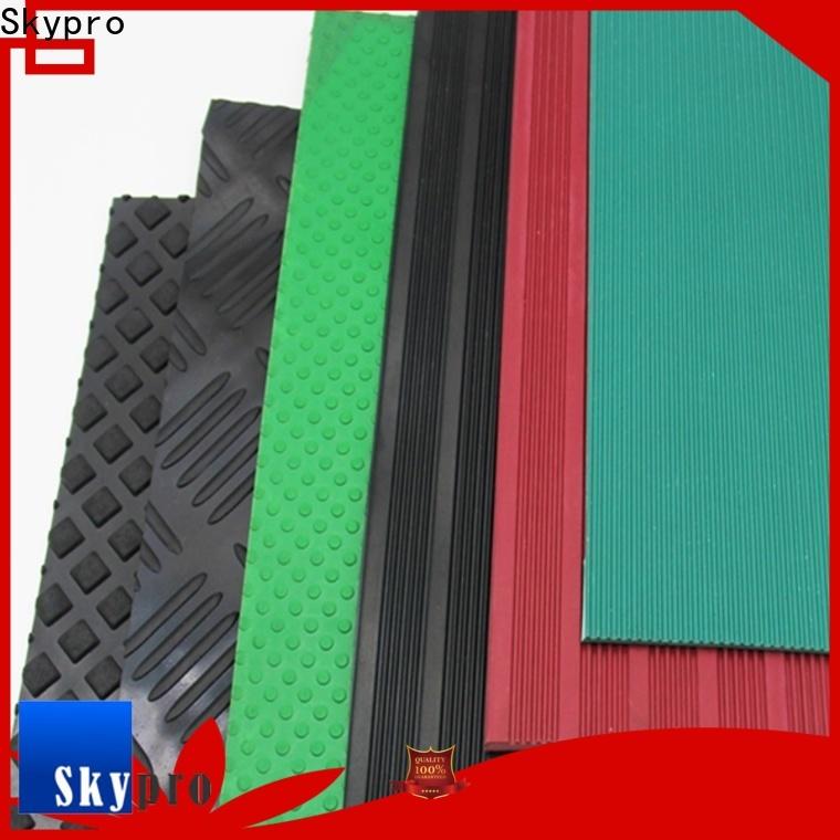 Skypro black rubber mat for sale