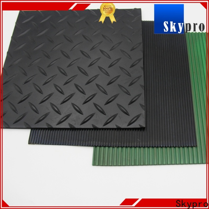 Skypro Custom corrugated rubber mat supply for home