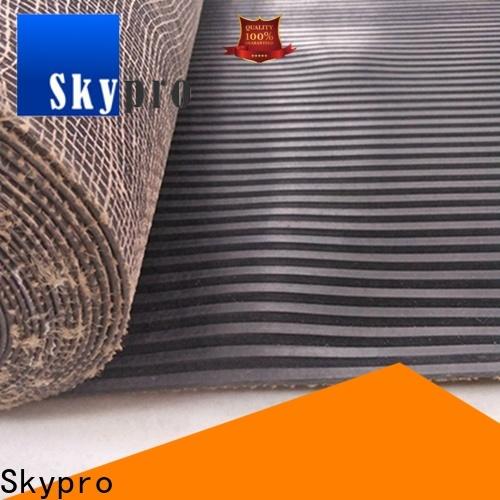 Custom rubber gym mats supply