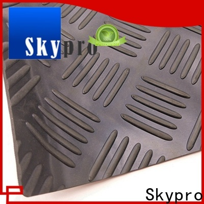 New rubber flooring manufacturers supply for home