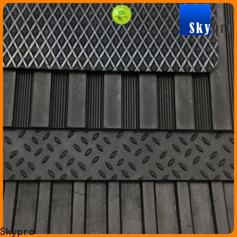 Skypro Custom made rubber backed mats factory