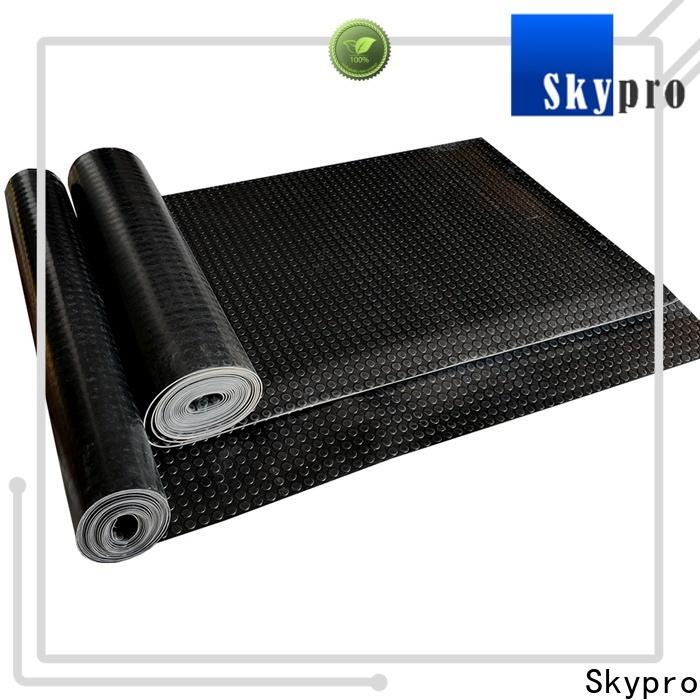 Skypro rubber tiles price supply for flooring mats
