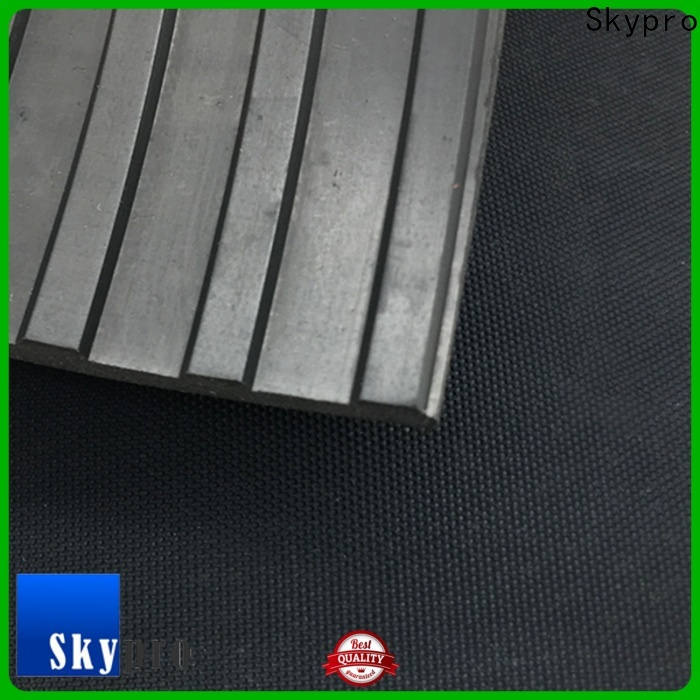 Skypro black rubber mat supply for car