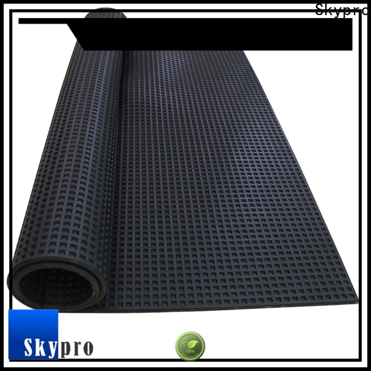Skypro rubber flooring company manufacturer for farms