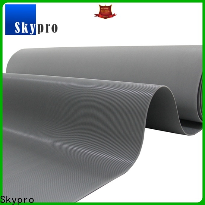 Custom made black rubber mat wholesale for flooring mats