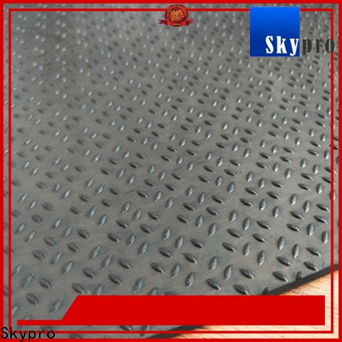Professional large rubber mats company for flooring mats