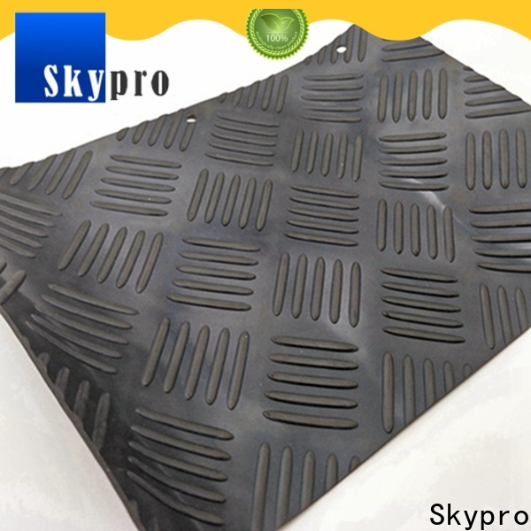 High-quality rubber tile factory for flooring mats