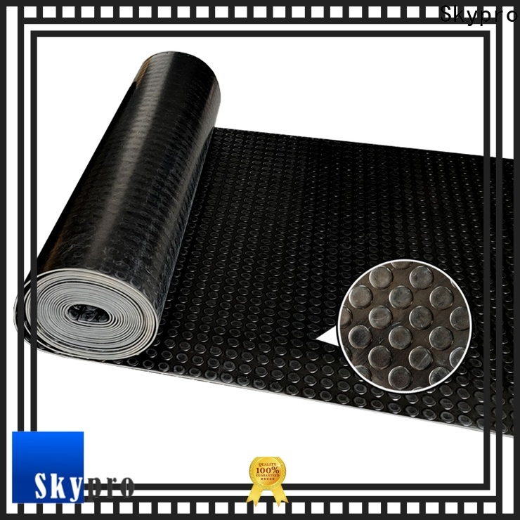 Skypro self-adhesive rubber sheet wholesale for flooring