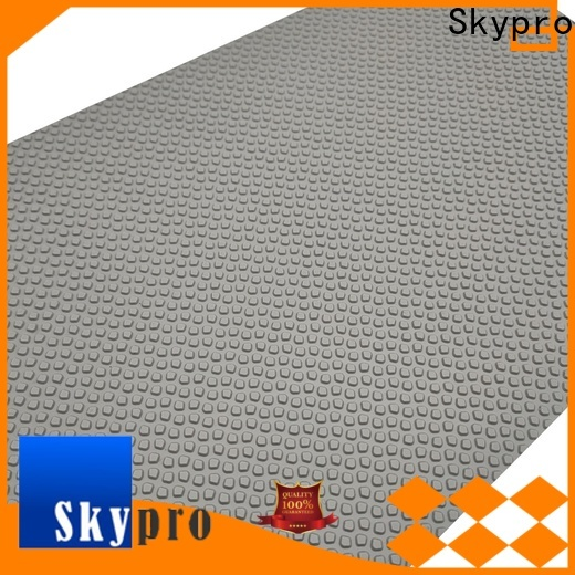 New plastic floor mat price per square foot factory