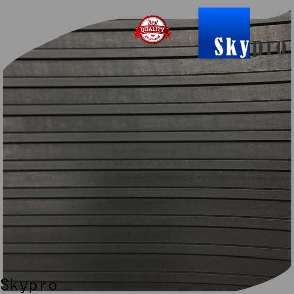 Skypro grey rubber flooring company for home