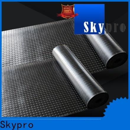 Skypro Custom made rubber floor price supplier for flooring mats