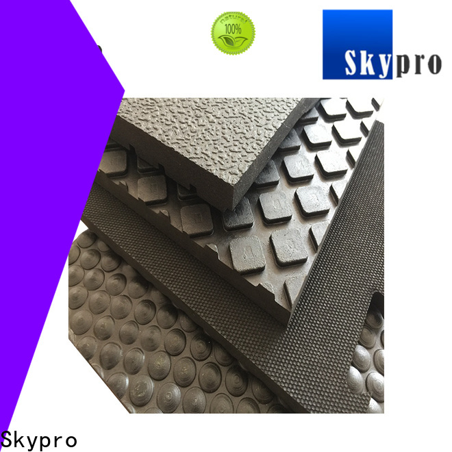 Top rubber floor mat price wholesale for farms