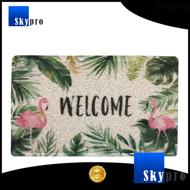 Latest outdoor front door mats company for aprtment