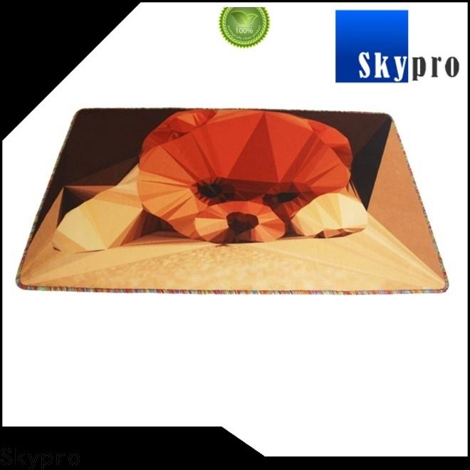 Custom cat door mat manufacturer for hotel