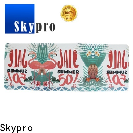 Skypro best extended gaming mouse pad supply used as promotion gift