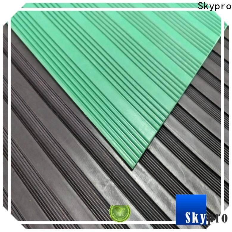 Skypro custom cut rubber floor mats supplier for farms