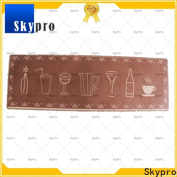 Skypro Custom rubber door mat supply for aprtment