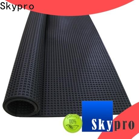 Skypro Top ribbed rubber mat vendor for flooring mats