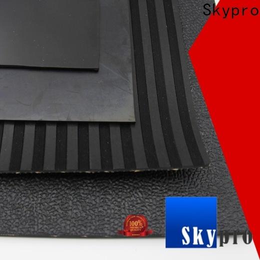 Custom made blue rubber matting factory for flooring mats