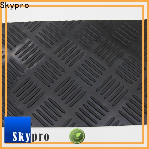 High-quality pyramid rubber mat supplier