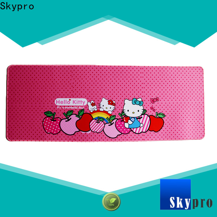 Skypro Custom made gaming mouse mat supplier for computer accessory