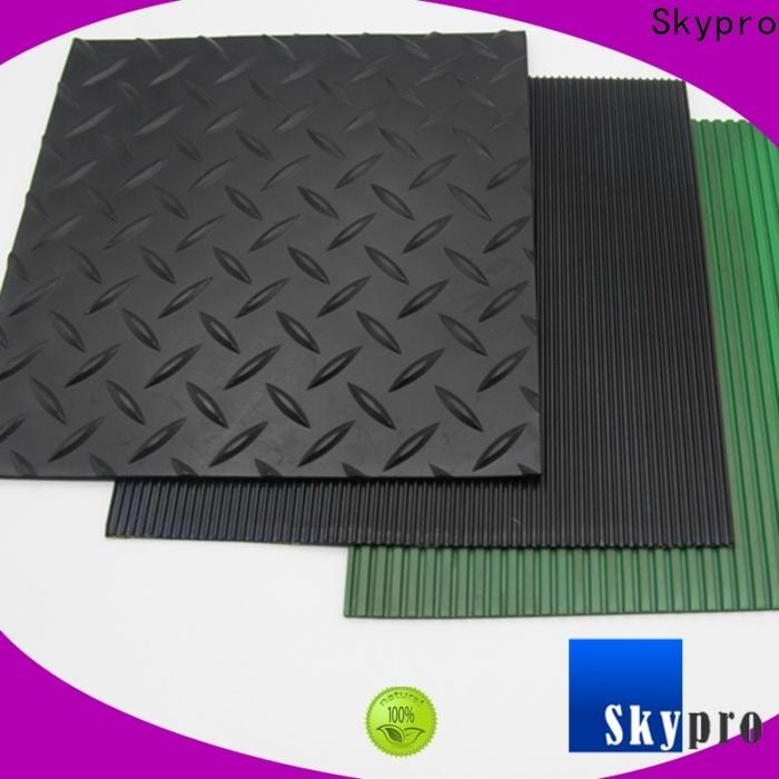 Skypro black rubber mat wholesale for home
