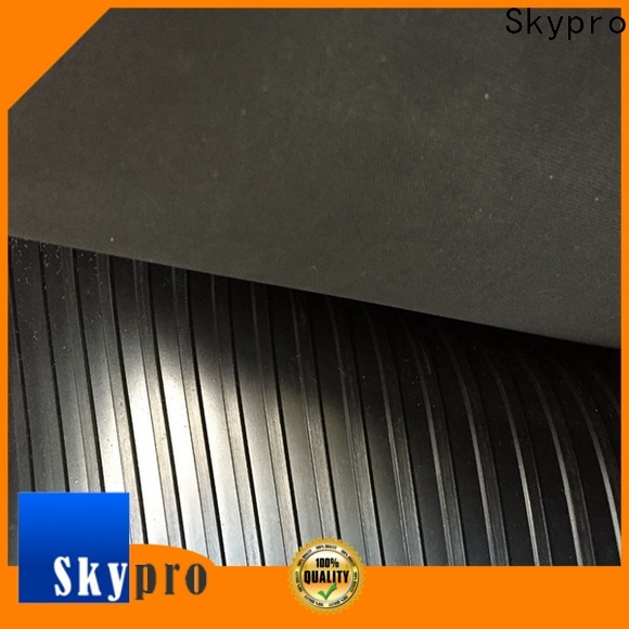 Skypro Custom pyramid rubber mat wholesale for farms