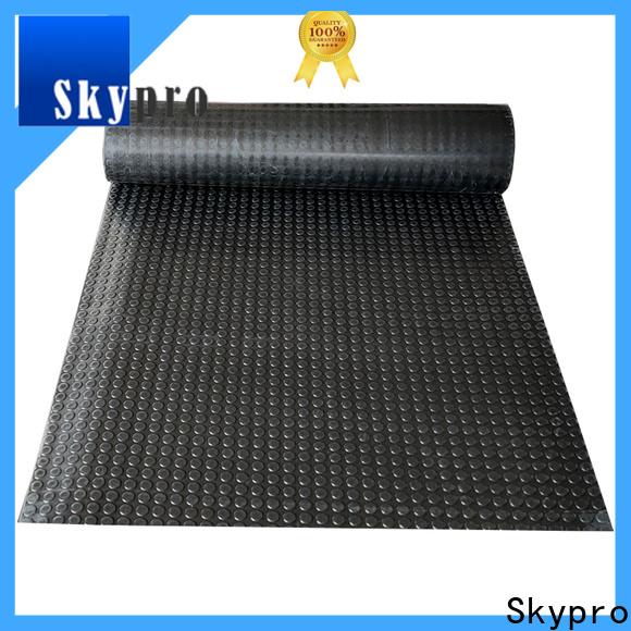 Skypro damping rubber sheet factory for flooring mats