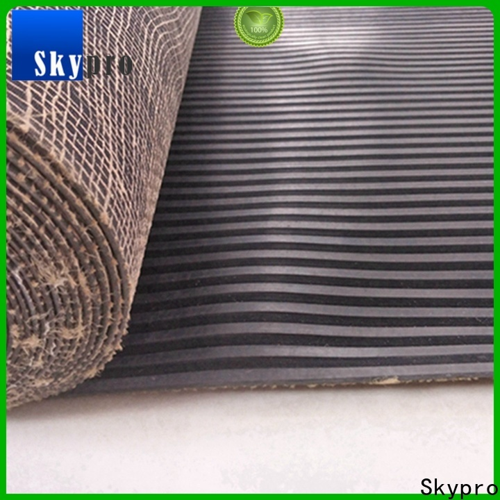 Professional rubber mat black for sale for flooring mats