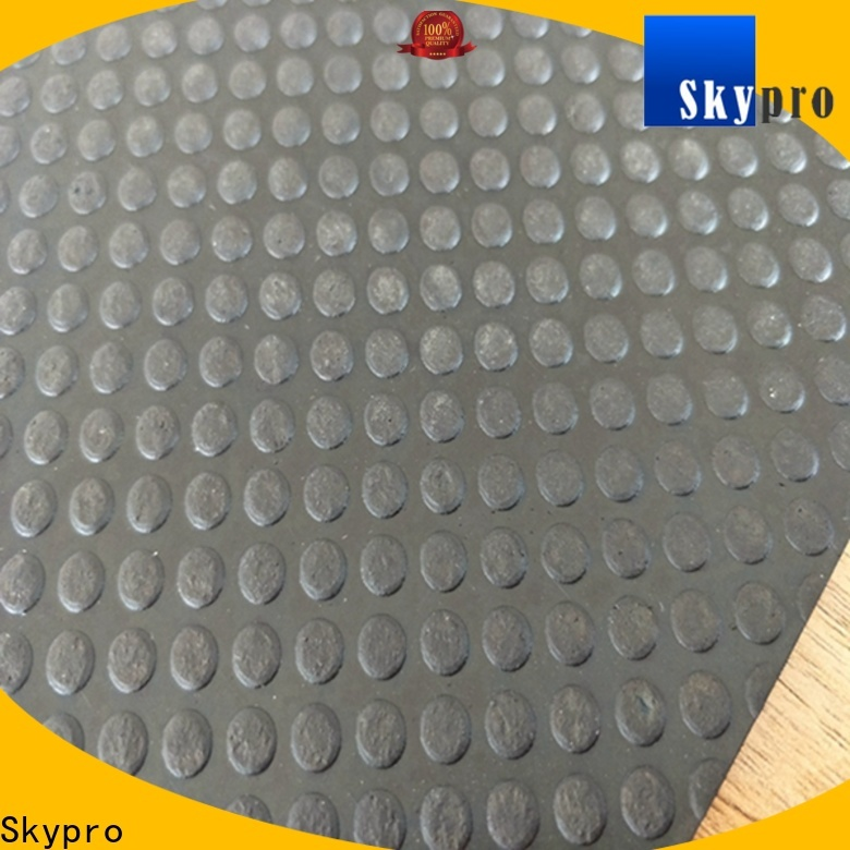 Skypro Latest ribbed rubber mat manufacturer