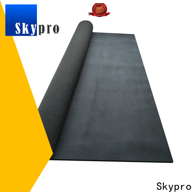 Custom made black neoprene fabric supply for special package