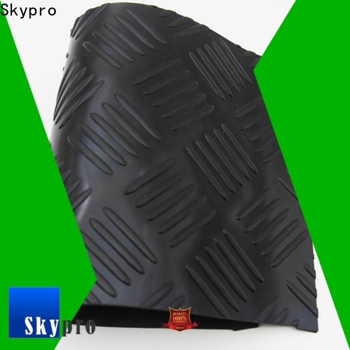 Skypro custom cut rubber floor mats supply for flooring mats