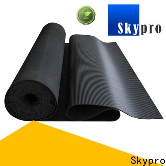 Skypro rubber gym mat vendor for home