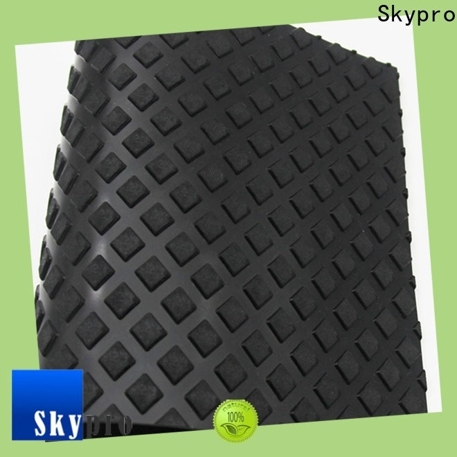 Skypro ribbed rubber mat supplier for farms