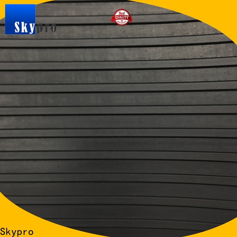 Skypro Custom black rubber gym flooring factory for car