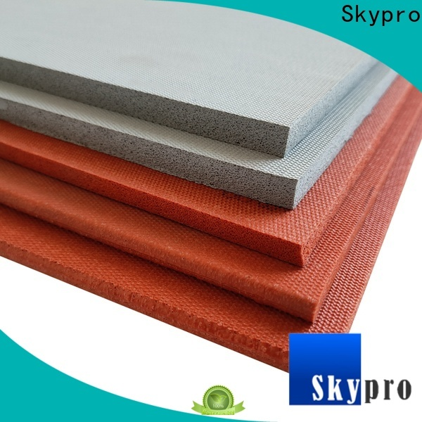 Skypro black rubber mats with holes factory for car