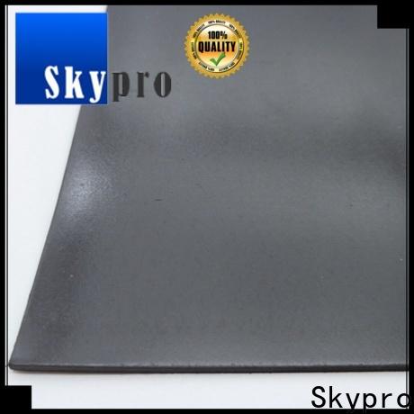 Skypro black rubber mats with holes vendor for flooring mats